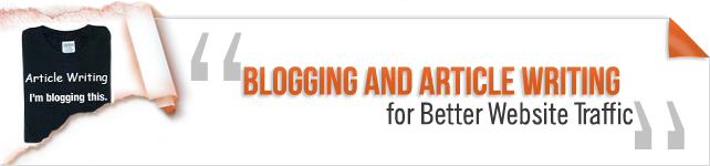 blogging and article writing