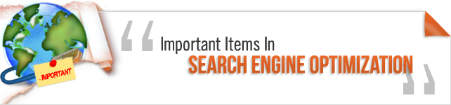 important items in seo