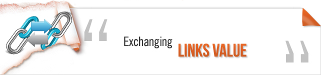 exachanging links value
