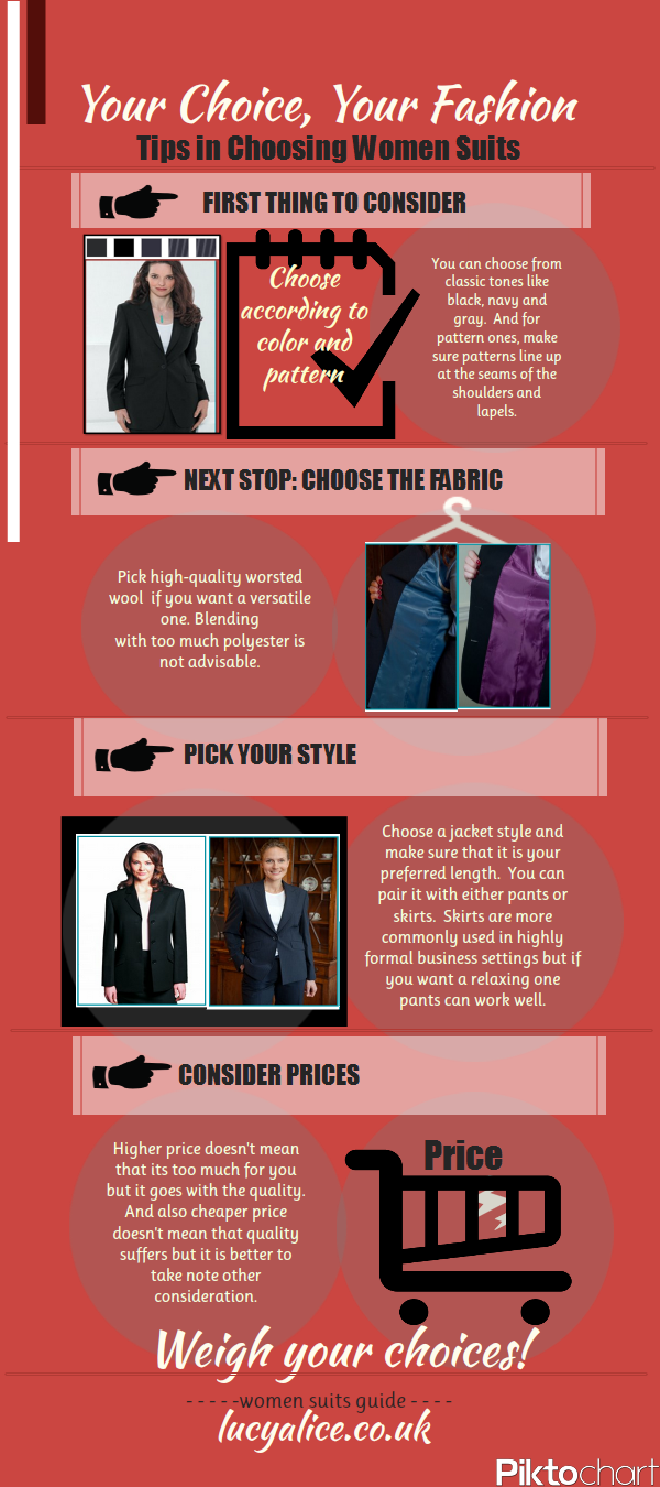 women suits guide -lucyalice.co.uk