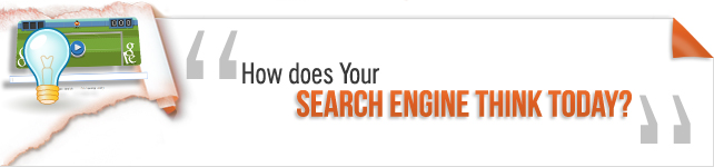how does search engine think today