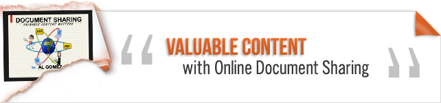 Valuable Content with Online Document Sharing