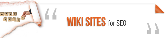 Wiki Sites for SEO