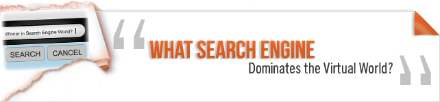 What Search Engine Dominates the Virtual World?
