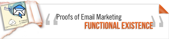 Proofs of Email Marketing Functional Existence
