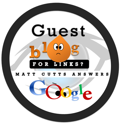 google on guest blogging