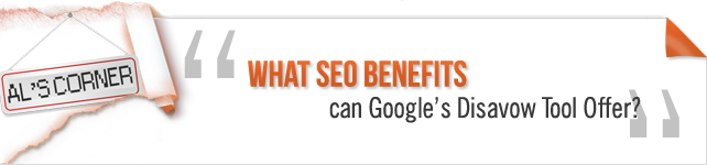 seo benefits of disavow tool