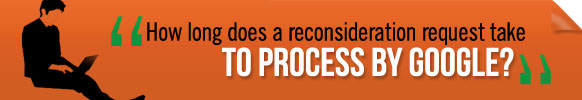 reconsideration request time frame