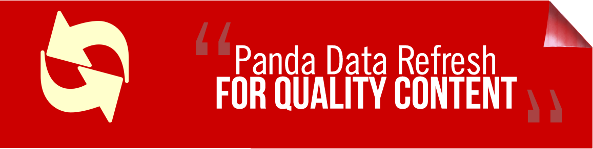 panda for quality content