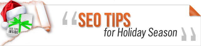 seo tips for holiday season