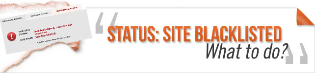 site blacklisted