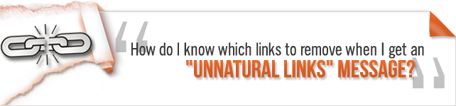Matt Cutts talk on unnatural links