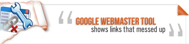 Google Webmaster tool shows links that messed up