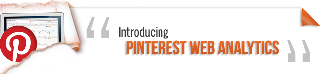 Introducing Pinterest Web Analytics