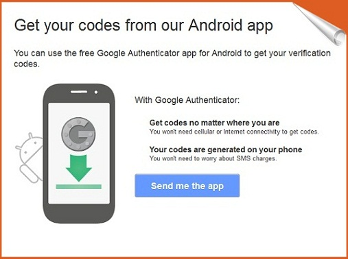 Get the Code from Android App