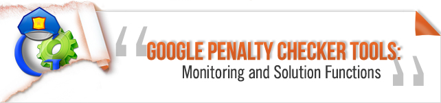 Google Penalty Checker Tool