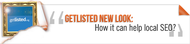 GetListed New Look: How it can help local SEO?
