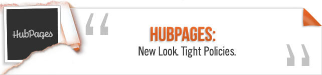 hubpages new look